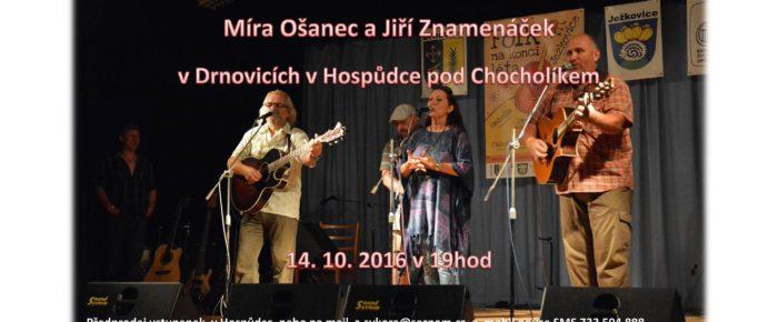 Tradiční koncert Pod Chocholíkem v Drnovicích.